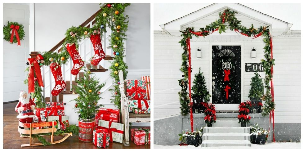 60+ Festive and Beautiful Ways to Decorate with Christmas Garlands