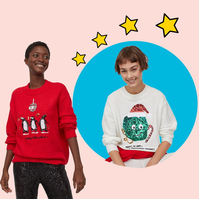 Christmas Jumpers 2020 29 Best Novelty Festive Sweaters To Shop