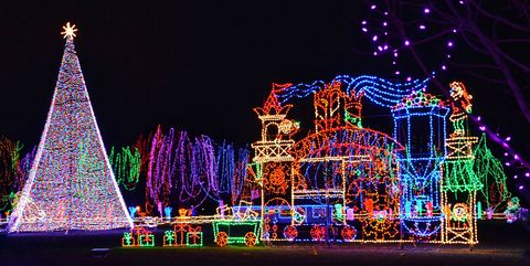 Christmas Lights Near Me Best Holiday Light Shows In The