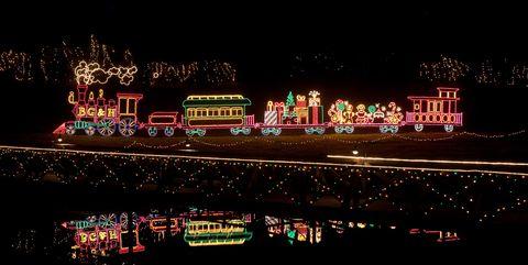 Christmas Light Displays Near Me.25 Bbest Christmas Light Displays In America Holiday Light