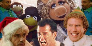 Best Christmas movies , Muppet Christmas Carol, Elf, Bad Santa, Die Hard