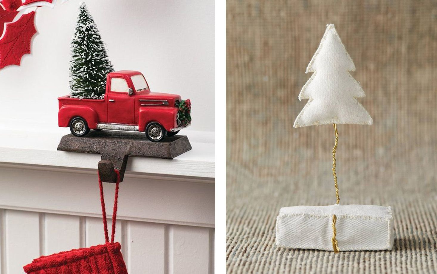30 Stylish Christmas Stocking Holders for a Festive Mantel