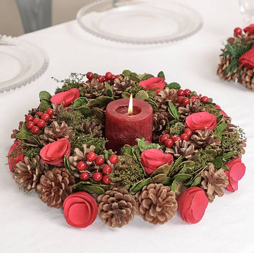 best christmas table centrepieces