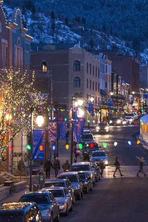 best christmas towns park city ut