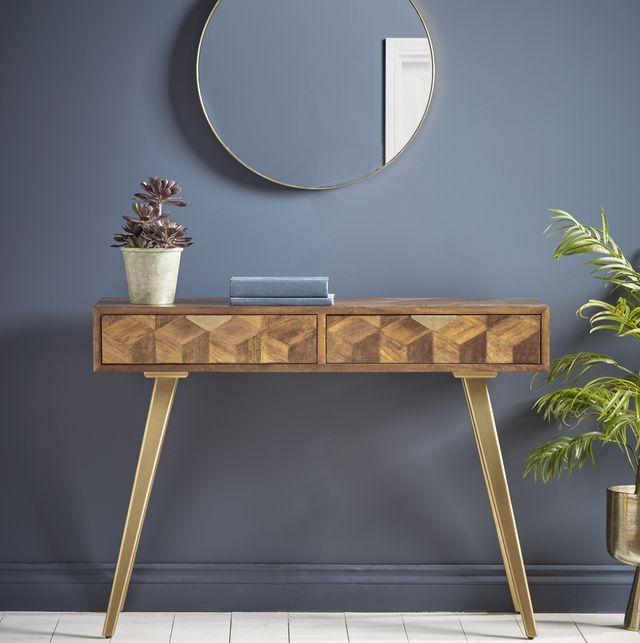 19 Console Tables For 2021 Perfect Decoration And Storage - Small Console Table With Drawers