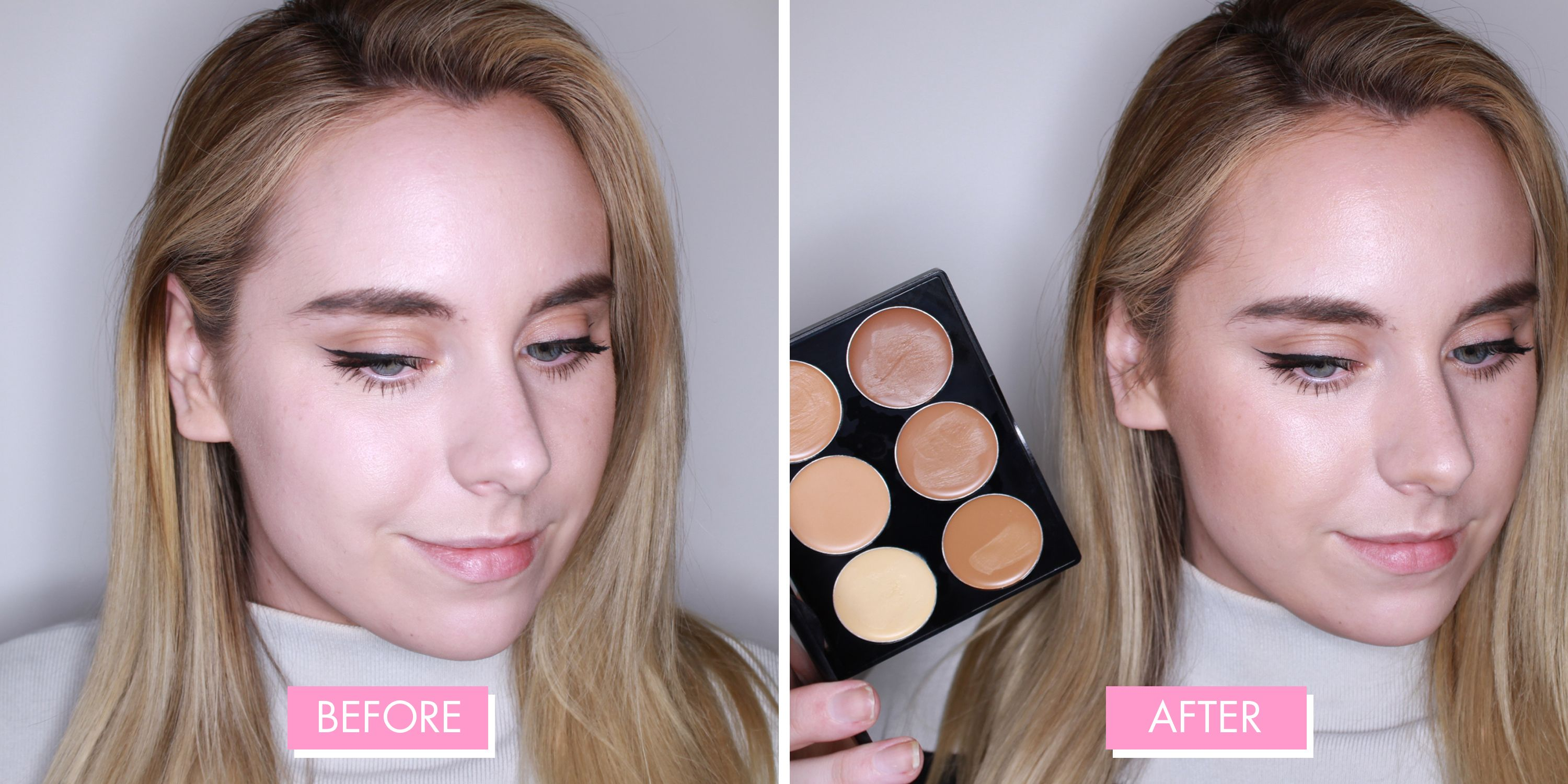 Best Contour Kit 2019 9 Tested On Half A Face