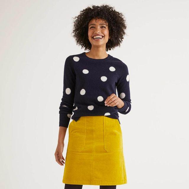 Best corduroy skirt