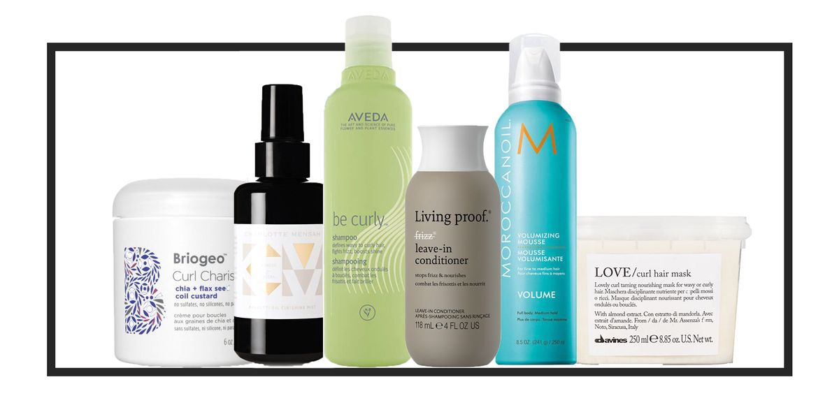 12 Best Products For Curly Hair Top Creams Oils And Co Washes