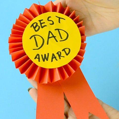 father's day crafts preschool easy peasy fun best dad ribbon