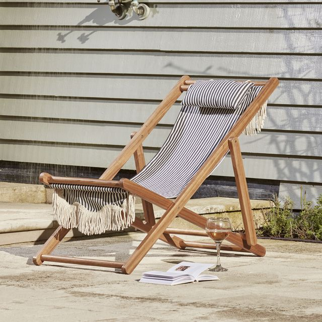15 best deck chairs to buy — wooden deck chair, folding, fabric