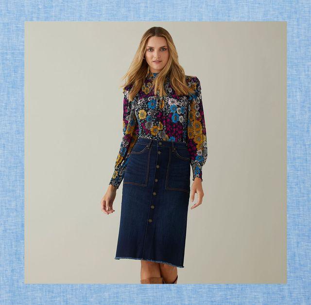 best denim skirts for women free people walmart