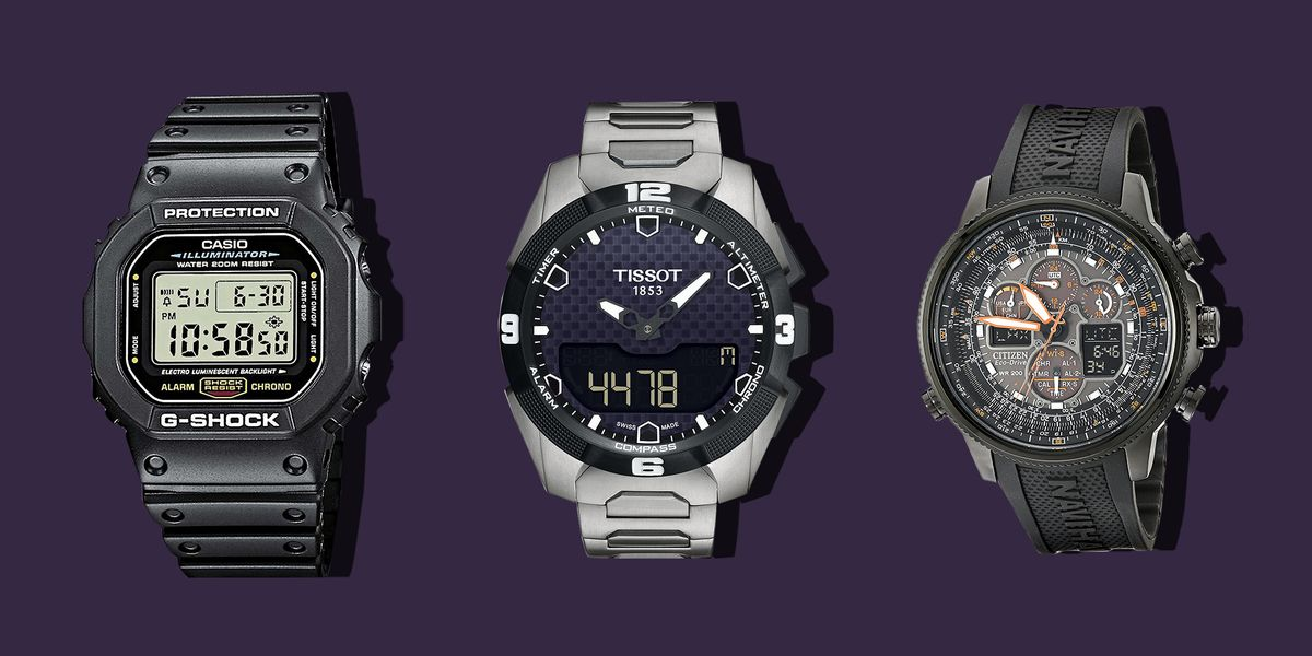 Top 10 Tech Cars To Watch For In 2018: 10 Best Digital Watches For Men