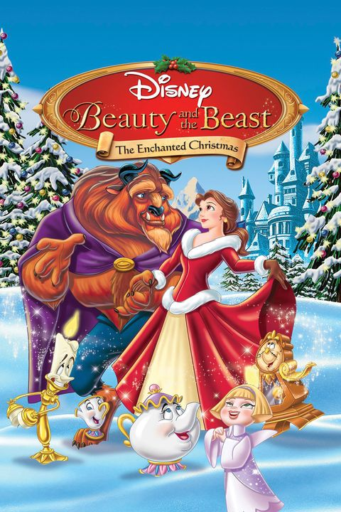 best disney christmas movies beauty and the beast the enchanted christmas