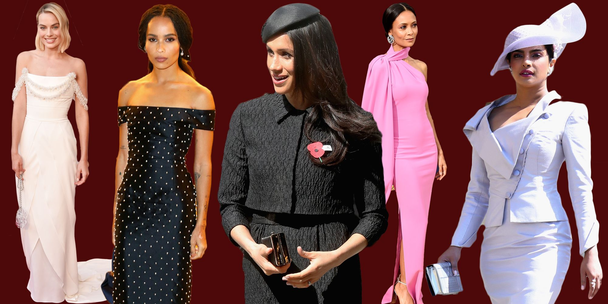 the 10 best dressed women of 2018 best dressed celebrities of 2018