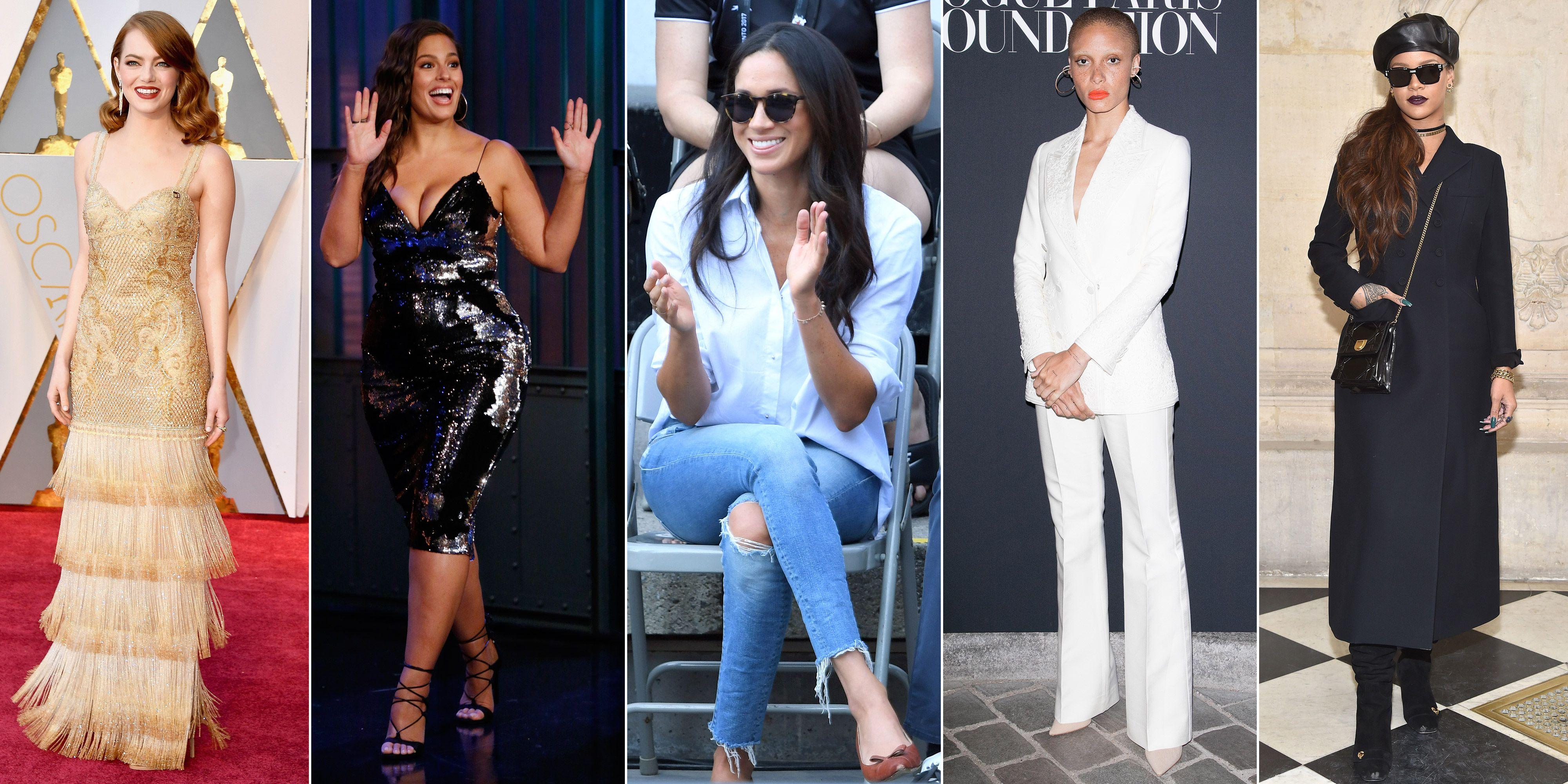 4b912c2613f The 10 best-dressed women of 2017