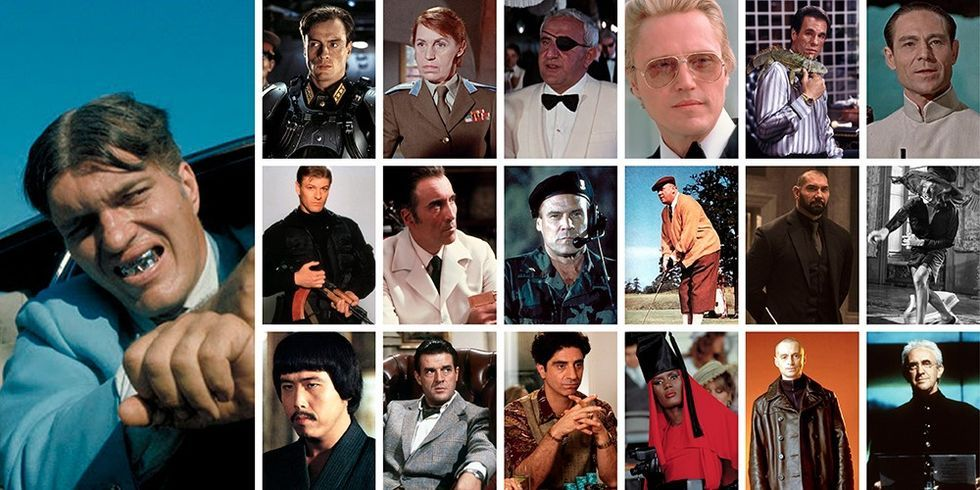 A Definitive Ranking Of Bond Villains, From Pretty Well-Dressed To Pure Evil