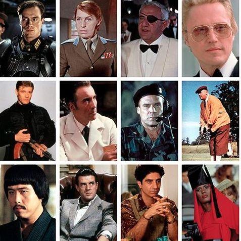 007, 悪役, ジェームズ・ボンド, ファッション, ランキング, ジョーズ