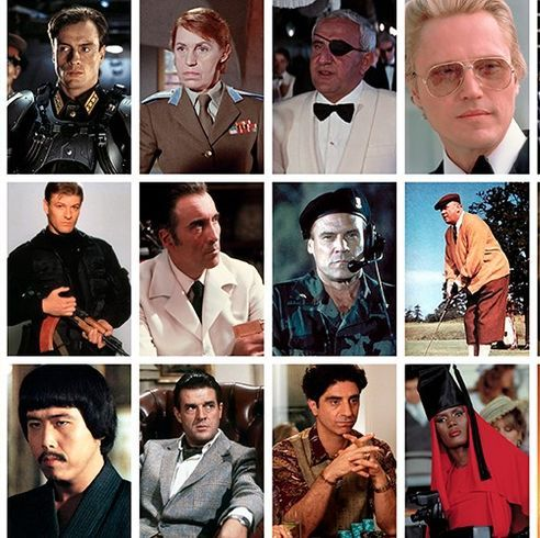 best-dressed bond villains