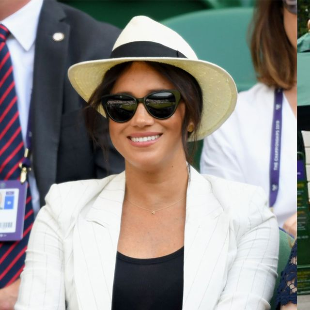 All the most stylish celebrities at Wimbledon