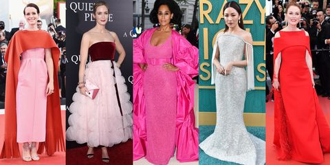 554f17e1de 30 Best Dresses and Gowns of 2018 - Best Red Carpet 2018