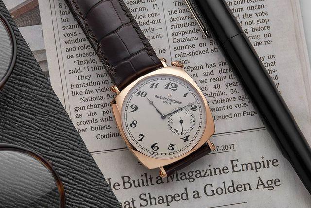 hodinkee vacheron constatine historiques american 1921 in rose gold