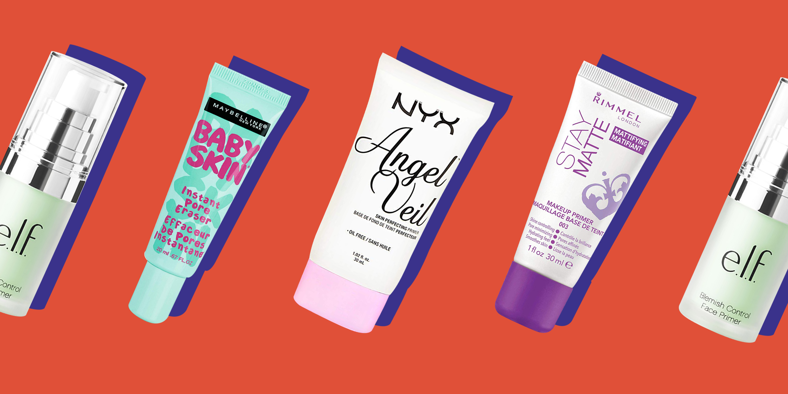 8 Best Drugstore Face Primers For Oily Skin 2018