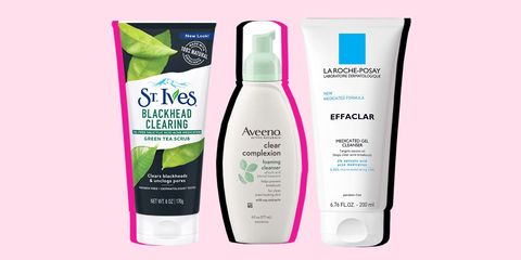 best drugstore face wash for acne