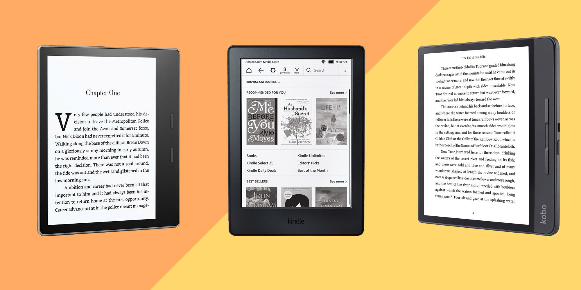 The best e-readers you can buy - is Amazon Kindle the best e