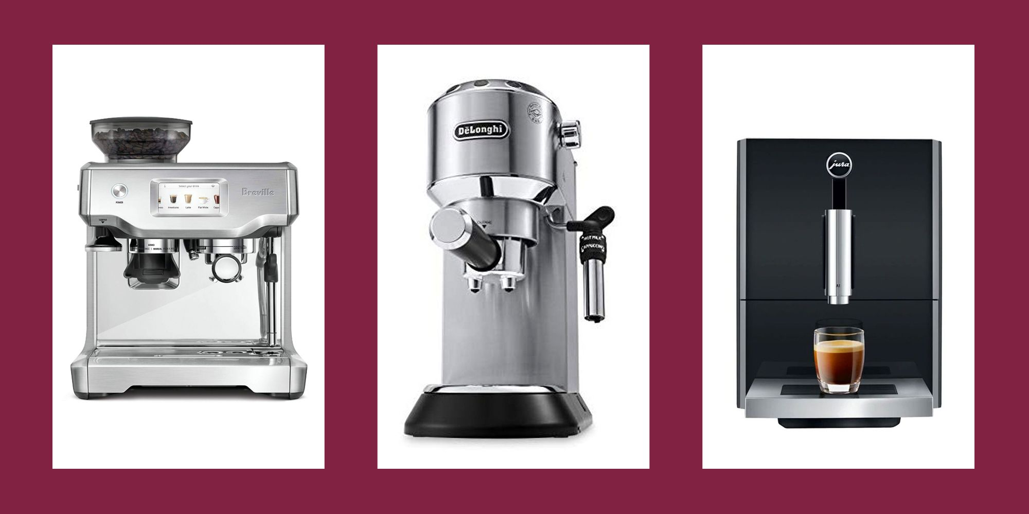 The 10 Best Espresso Machines You Can Buy Online