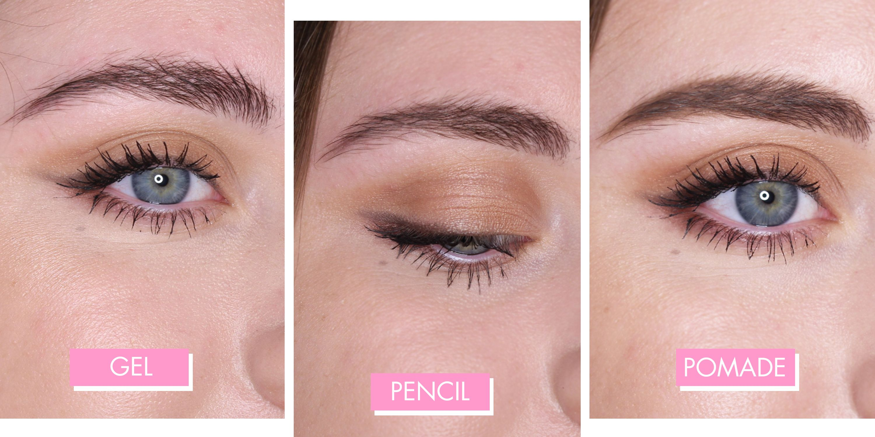 I tried 11 of the best eyebrow products and heres what they all look like irl