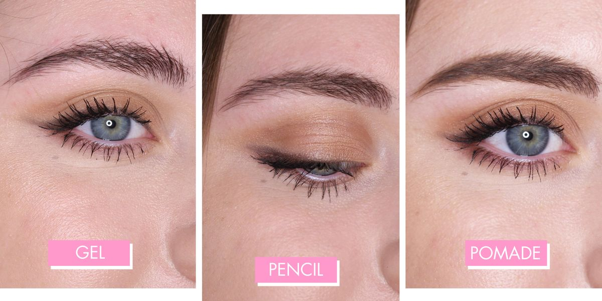 Best Eyebrow Makeup 2018 What 11 Kits Pencils And Setting Gels