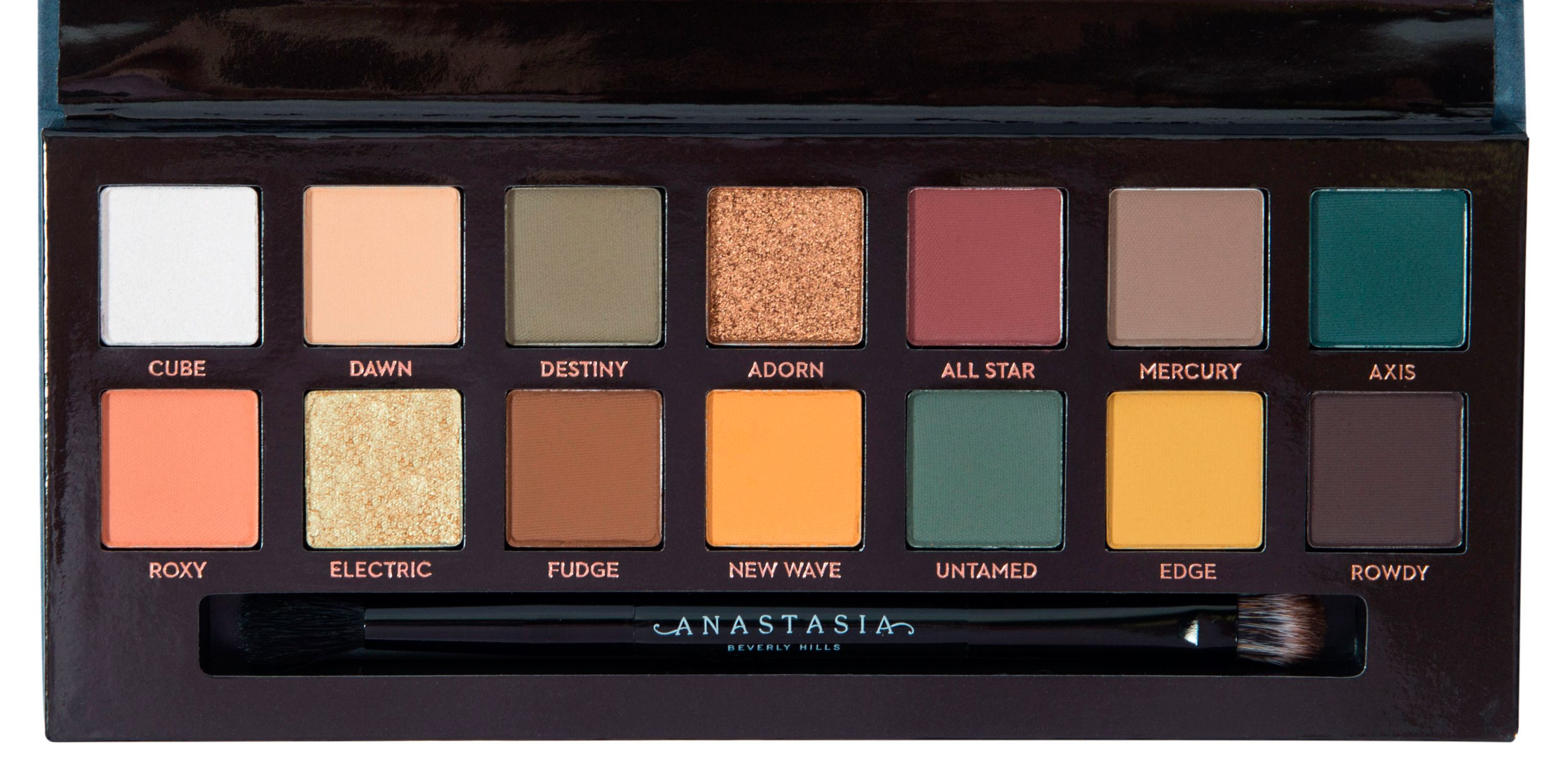 Best eyeshadow palette - reviews and swatches