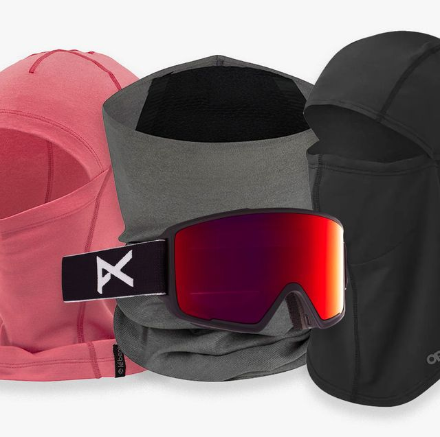 a bunch of neck gaiters and balaclavas