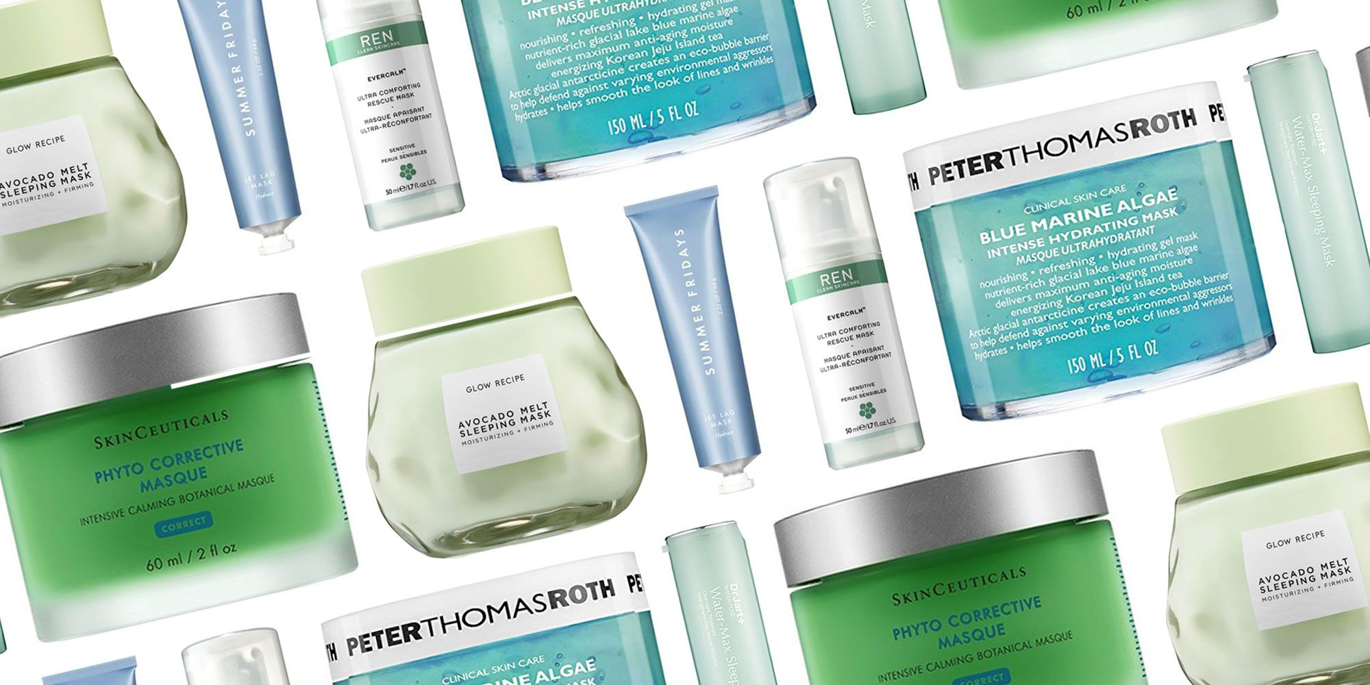 Face Hydrating 26 Sheet Soothe Masks To For Best Dry - Skin
