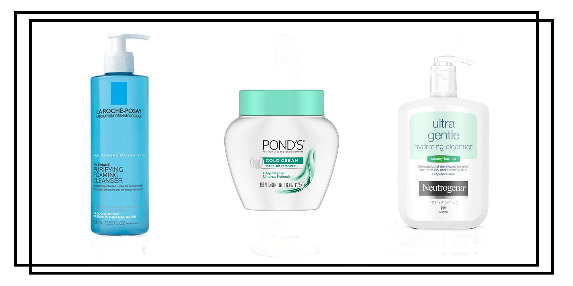 Dermatologist facial cleanser