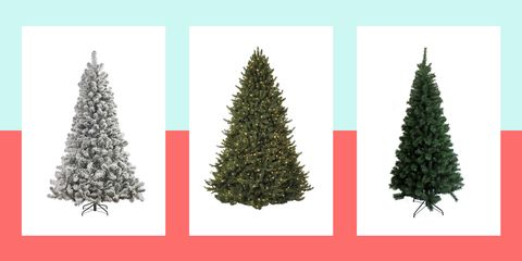 Fake Christmas Tree.5ft Green Woodland Wide Christmas Tree