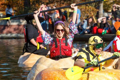 giant pumpkin regatta in oregon