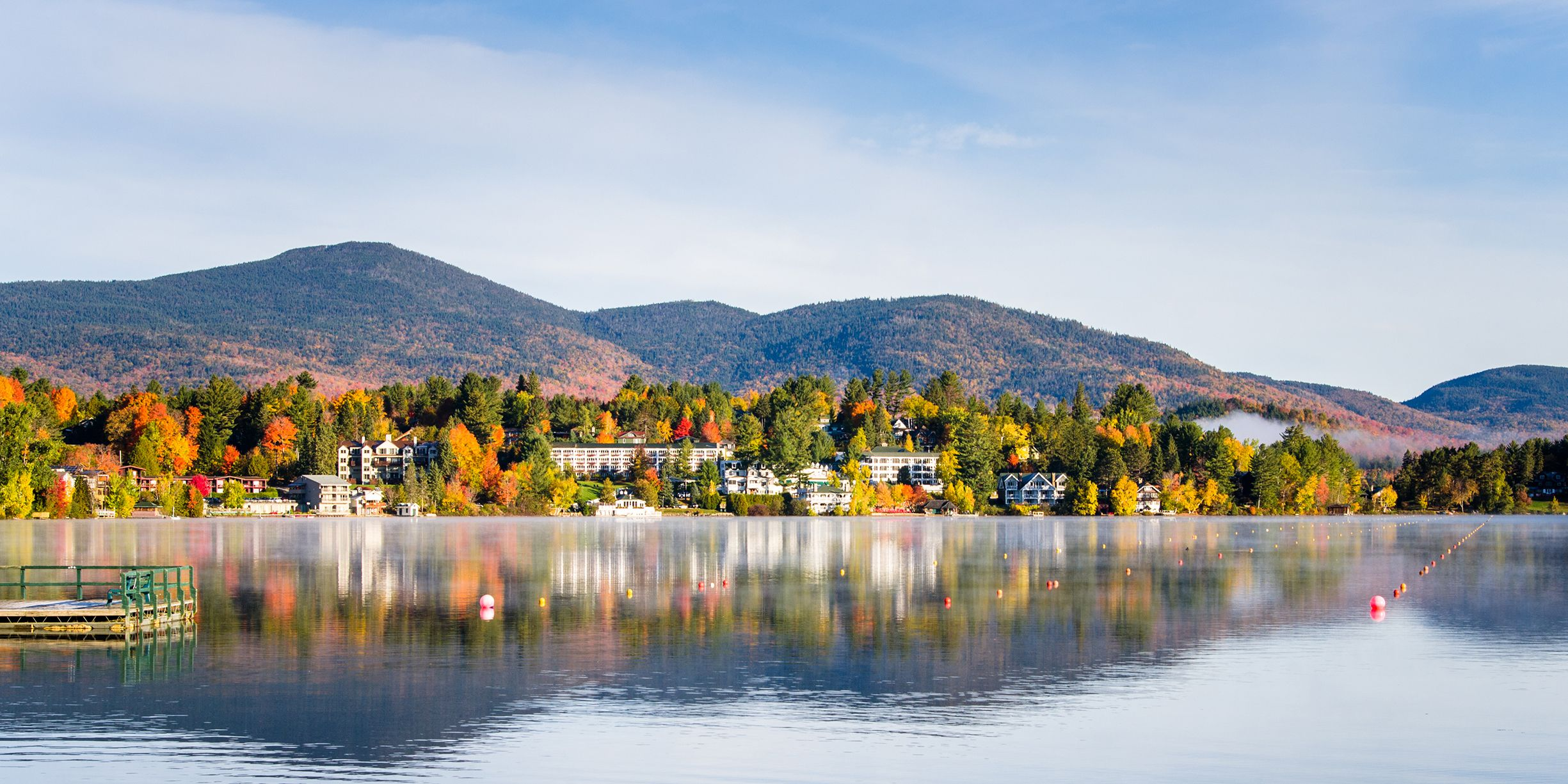 best fall foliage small towns in america