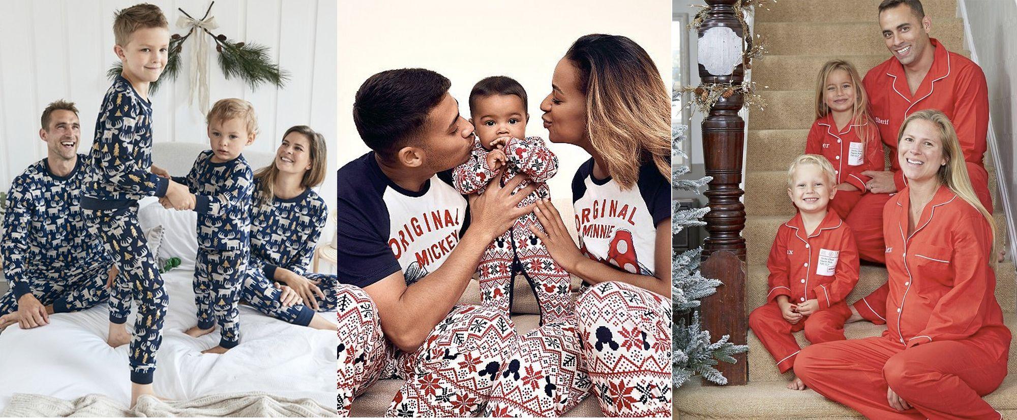 Best Matching Family Christmas Pyjamas Uk Family Christmas Pyjamas 2020