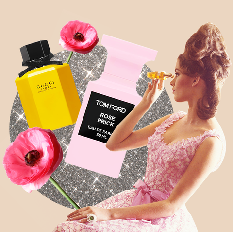 Product, Pink, Beauty, Cosmetics, Fashion, Perfume, Material property, Dress, Plant, Hair care,