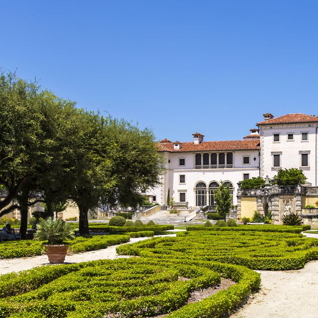 best florida gardens vizcaya museum veranda