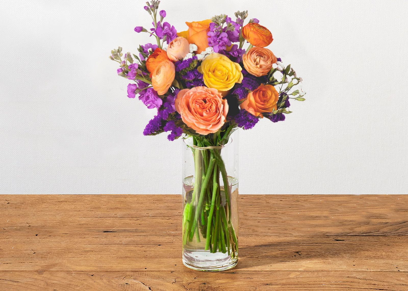 How to make a bouquet out of fresh flowers at home depot