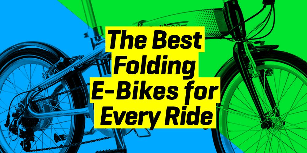 9 Fast, Sleek, Simple Folding E-bikes