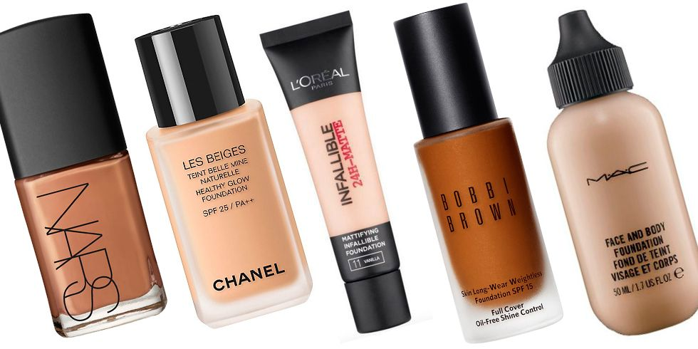 Best Foundation For All Skin Types 2018