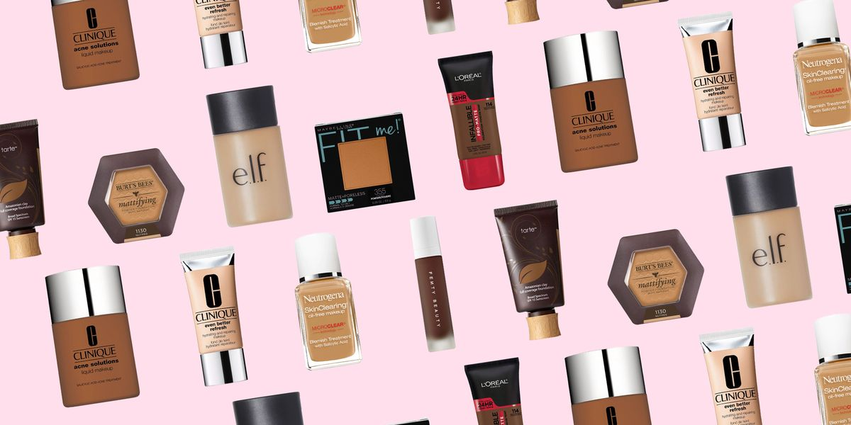 17 Best Foundations For Acne E Skin