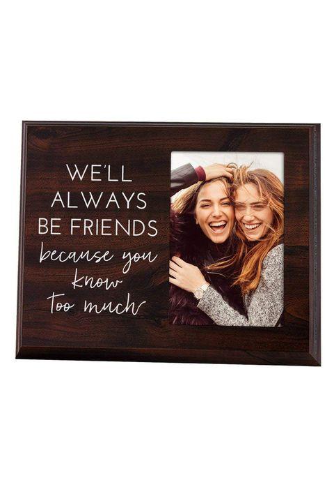 best friend photo frame best friend gifts courtesy of elegant signs