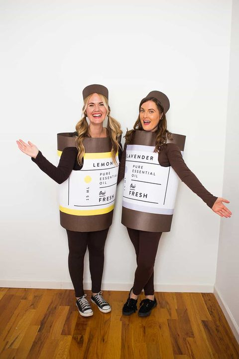 best friend halloween costumes essential oils