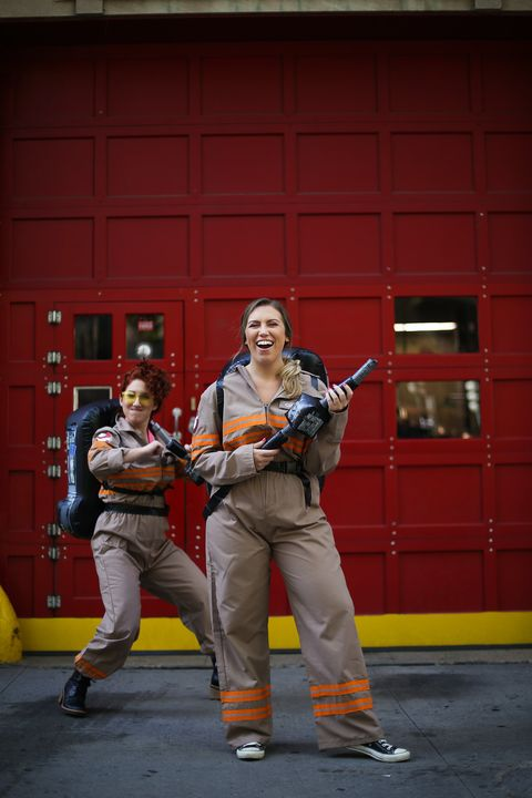 Best Friends Halloween Costumes - Ghostbusters