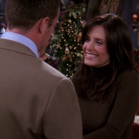 "best 'friends' christmas episodes   season 9, episode 10 ""the one with christmas in tulsa"""