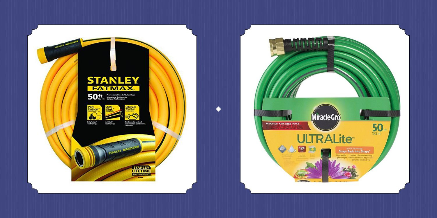 25 of the Best Garden Hoses That Make Watering the Lawn Less of a Chore